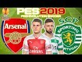 Arsenal vs Sporting Lisbon Prediction | UEFA Europa League 8th Nov | PES 2019 Gameplay