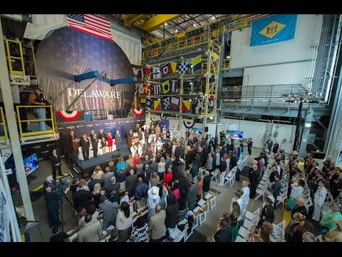 Future USS Delaware (SSN 791) Keel Laying