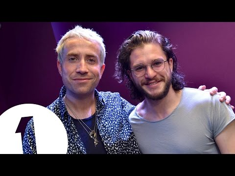 Kit Harington gets a phone call from Maisie Williams | Big Weekend Co-Hosts