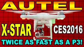 Autel X-Star -VS-  DJI Phantom P3 - Demunseed