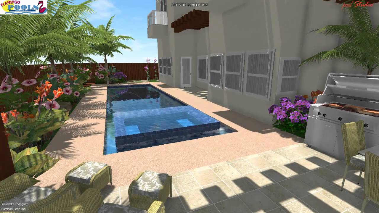 3d swimming pool design lmm pharr youtube for Swimming pool design youtube