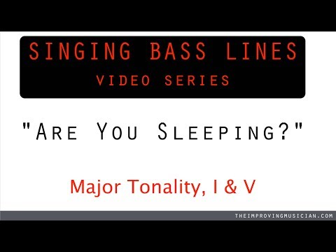 Are You Sleeping? (Singing Bass Lines Series)