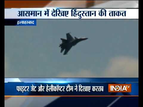UP: IAF impresses with a scintillating airshow in Allahabad