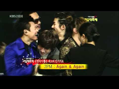 HD091230 2PM  Winning Song of the Year & Encore