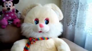 Огромный заяц! София делает обзор на мягкие игрушки !