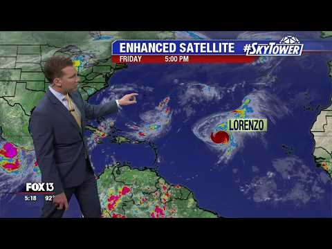 Tropical Weather Forecast: Sept. 27, 2019
