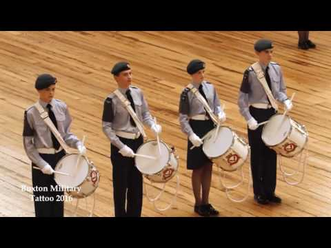 Buxton Military Tattoo 2016 - 2517 (Buxton) Sqn RAF Air Cadets Corps of Drums