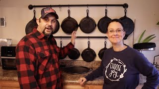 CAST IRON Cooking, Cleaning & Seasoning!   Everything you Need to Know!