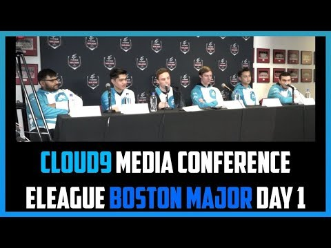Press Conference: Cloud9 ELEAGUE Boston Major 2018 Playoffs Day 1