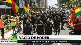 Evo Morales se vio obligado a dimitir para