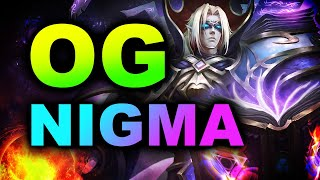 NIGMA vs OG - WHAT A GAME - EPIC LEAGUE DOTA 2