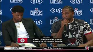 Kawhi Leonard Fires Back, Saying the Clippers Basketball is Better than the Lakers   July 24, 2019