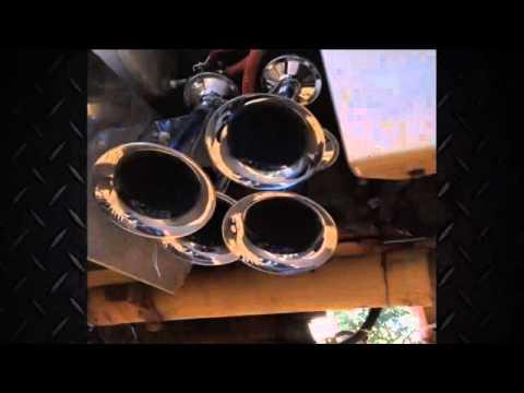 Chrome 4 Trumpet Train Horn - Super Loud