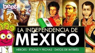 🇲🇽 LA INDEPENDENCIA DE MEXICO Historia causa resumen para niños