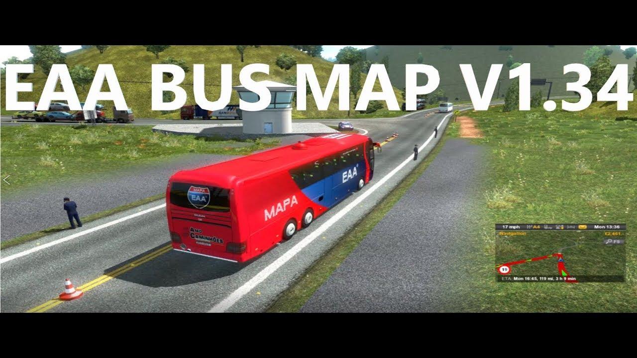 EAA Bus Map [10 Years] v 1 34 0 17s | Allmods net