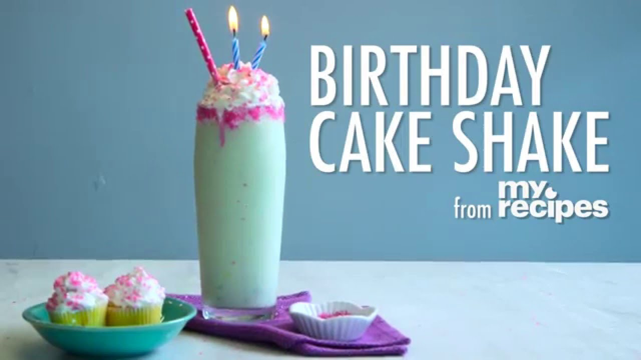 How To Make A Birthday Cake Shake