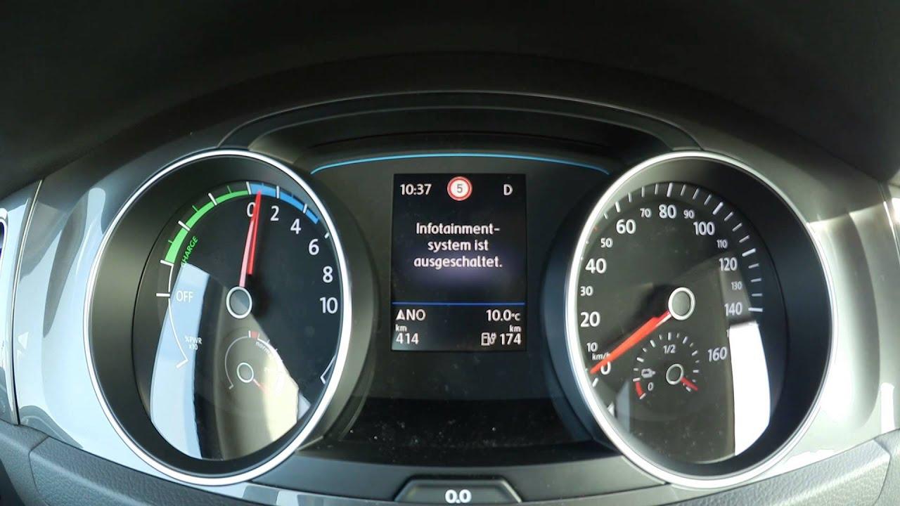 Volkswagen E Golf Acceleration 0 100 Km H 0 60 Mph Vw E Golf