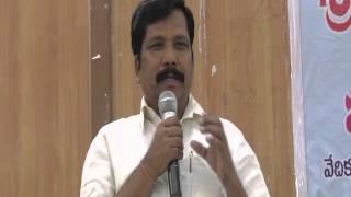 Speech Of Sri Chamansab Chairman Of ZP /Anantapur Here At ZP On 18-3-2016