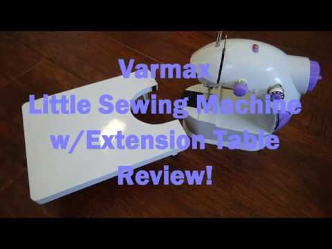 Varmax Little Sewing Machine with Extension Table Review!