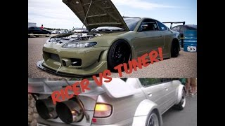 Ricers Vs Tuners - The Main Differences (prod. ThatCarSoundChannel)