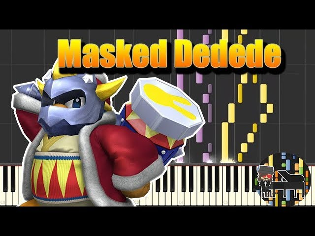 🎵 Masked Dedede - Kirby Triple Deluxe [Piano Tutorial] (Synthesia) HD Cover