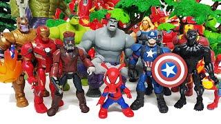 Hulk, Hulkbuster Go! Avengers, Spider-Man, Iron Man, Captain America, Thanos, Venom, Lego, Peppa Pig