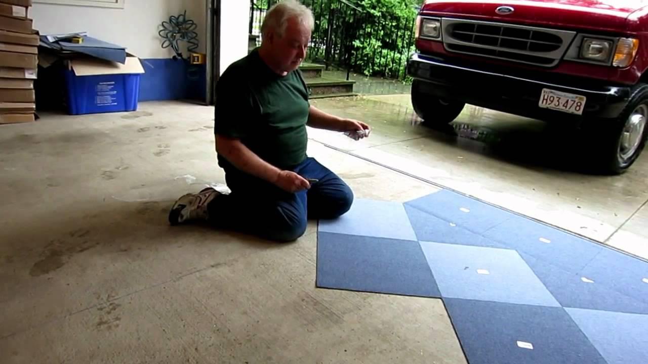 diamondLife Tuff Carpet Installation - YouTube