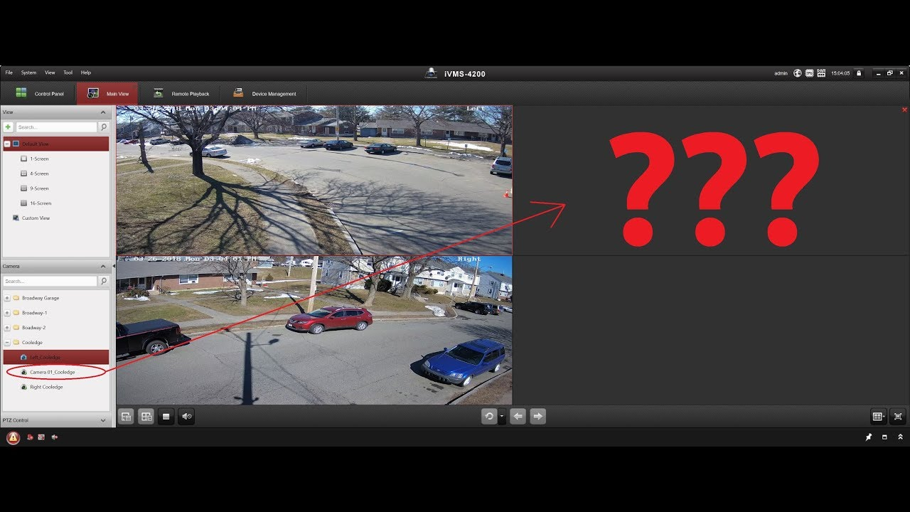 How to fix the Hikvision IVMS-4200 Live-View camera bug by Intellibeam com