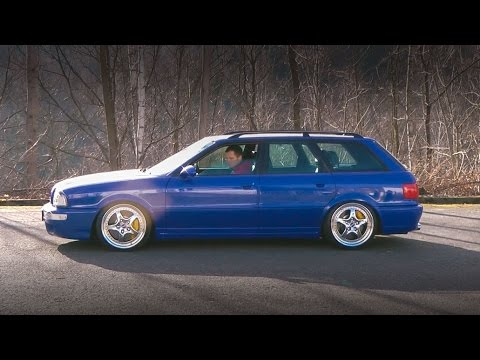 DOOZIE Audi RS2 Avant - CarPorn walkaround | Frohlix Entertainment