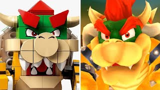 LEGO Super Mario - Bowser's Castle (Original VS LEGO)