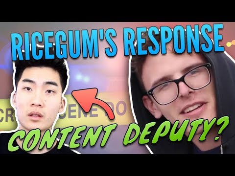 Thumbnail: How RiceGum Missed the Mark: His Content Cop Response