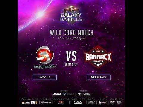 Skyville vs Barracx Game 1 (BO3) | Galaxy Battles Wildcard