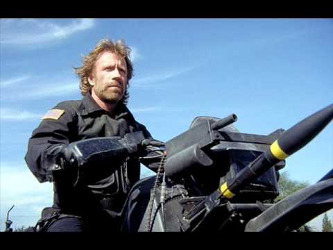 """Chuck Norris in """"The Delta Force"""" Theme!!"""