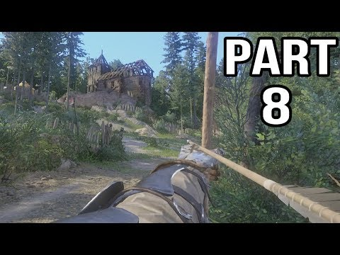 Kingdom Come Deliverance Gameplay Walkthrough Part 8 - Boars and Bandits