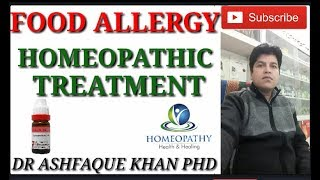 Food Allergy can be easily cured with homeopathic medicines. Whatsa...