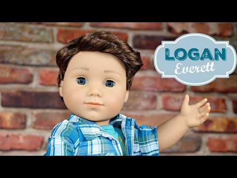 American Girl Doll LOGAN EVERETT Review