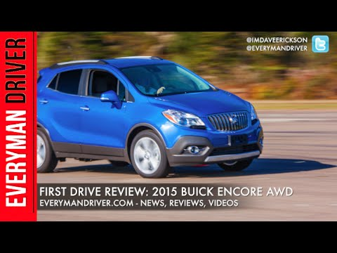 Here's The 2015 Buick Encore AWD On Everyman Driver