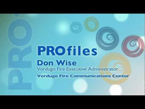 Glendale Employee Profile - Don Wise, Fire Department
