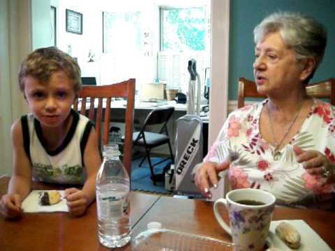 This is James DiGiacomo and his Grandma, who seemsto be important to him.