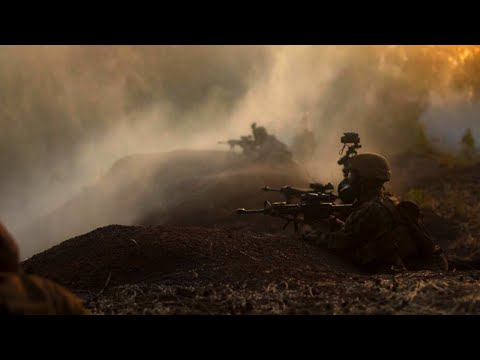Marines Defend Their Positions INTENSE REALISTIC TRAINING | AIMC Defense
