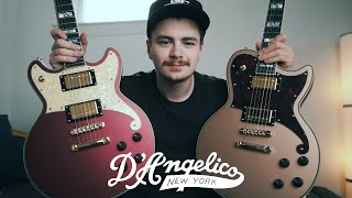 Two STUNNING Limited Edition Guitars from D'Angelico || Deluxe Atlantic & Deluxe Brighton