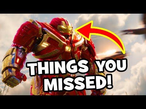 AVENGERS INFINITY WAR  Trailer 2  Easter Eggs, Infinity Gauntlet & Breakdown