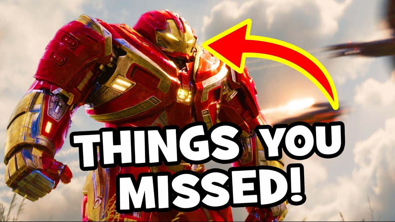 avengers infinity war official trailer 2 easter eggs infinity