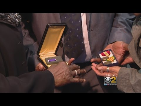 Vietnam Veteran Reunited With Military Medals
