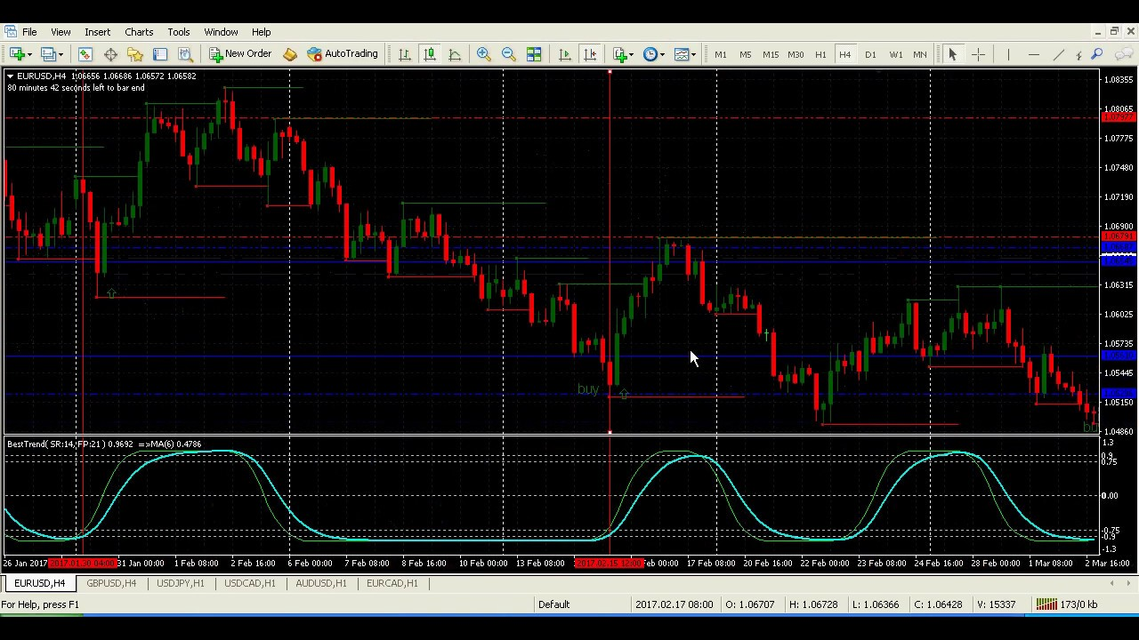 Forex trading system that works
