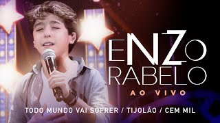 Enzo Rabelo - Todo Mundo Vai Sofrer / Tijolão / Cem Mil   Ao Vivo