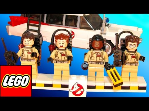 LEGO surprise box 15 different LEGO character toys Kinder Surprise egg Ghostbusters lego toys