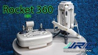 Обзор квадрокоптера JJRC H51 Rocket 360 c Banggood (4k)
