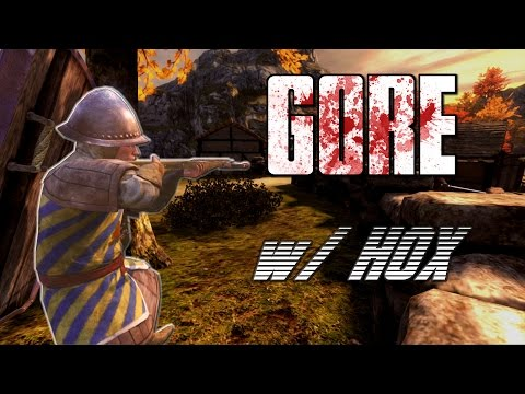 UNLIMITED GORE !! | Chivalry: Medieval Warfare w/ Hox