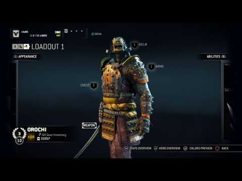 for honor how to get legendary gear